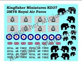 Royal Airforce 2MT squadron Markings